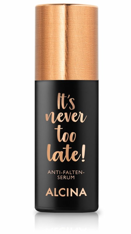 It's never too late Anti-Falten-Serum