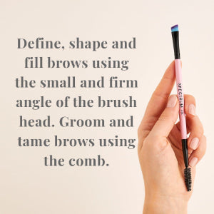 A24 Double Ended Brow Styler Brush