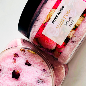 Wild Rose Bath Salt