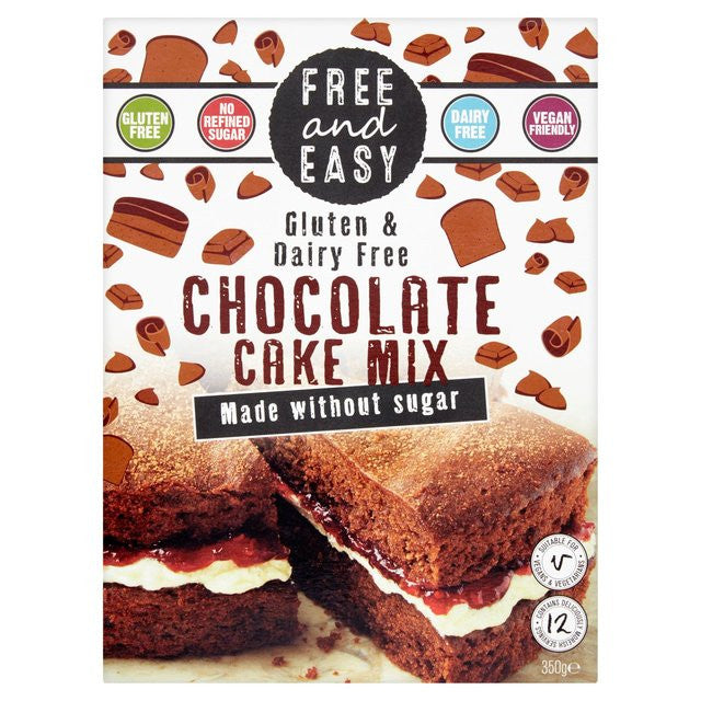 Free & Easy Sugar Free Chocolate Cake Mix