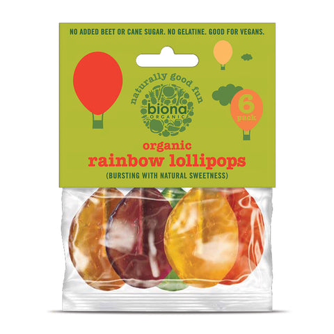 Biona Organic Rainbow Lollies