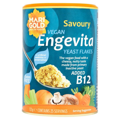 Marigold Engevita Nutritional Yeast Flakes with B12