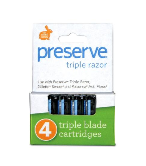Preserve Triple Replacement Blades