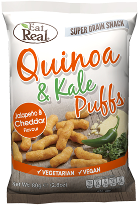 Eat Real Quinoa & Kale Puffs