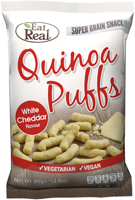 Eat Real Quinoa Puffs