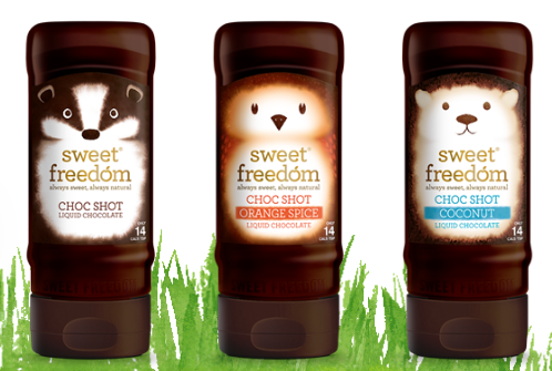 Sweet Freedom Choc Shot Liquid Chocolates