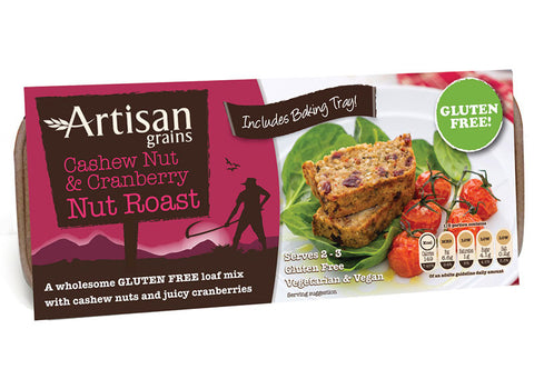 Artisan Grains Nut Roast Cashew & Cranberry