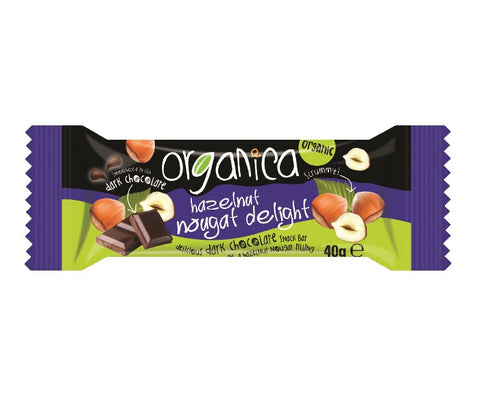 Organica Dark Chocolate Snack Bars