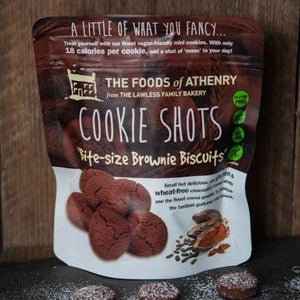 The Foods of Athenry Cookie Shots- Brownie