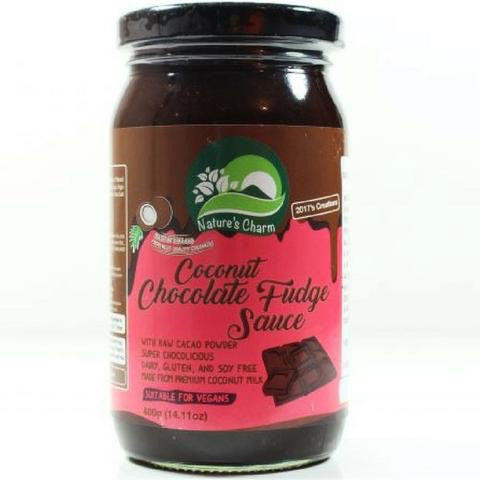 Natures Charm Coconut Chocolate Fudge Sauce