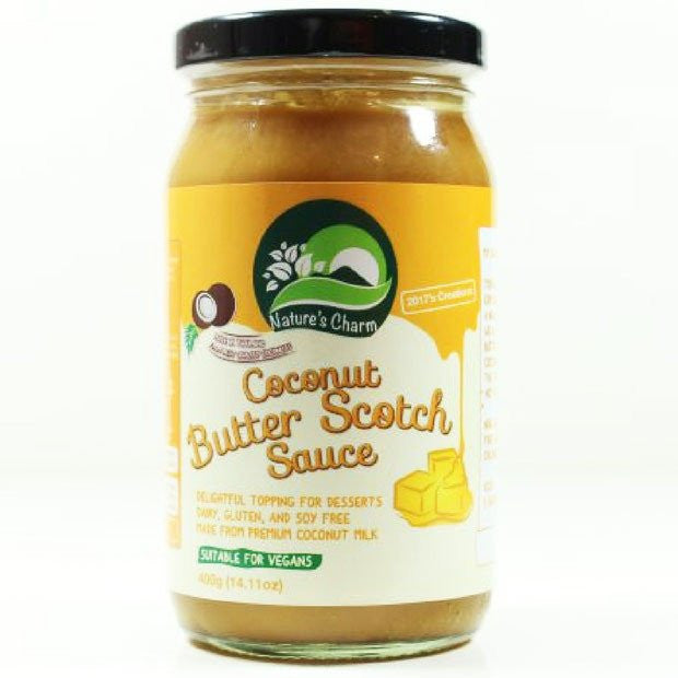 Nature's Charm Coconut Butter Scotch Sauce