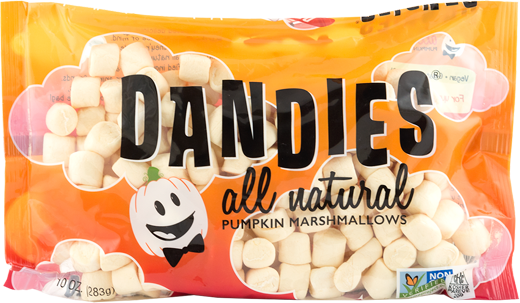 Dandies Mini Pumpkin Marshamallows