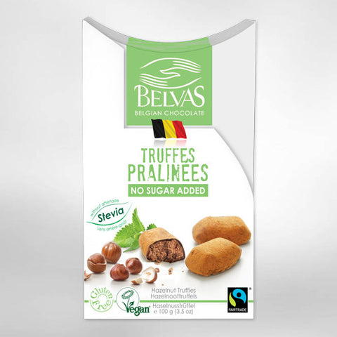 Belvas Truffle Pralines- No Added Sugar