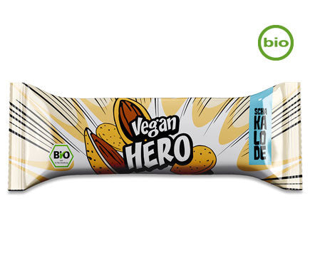 Vantastic Foods Vegan Hero White Almond Bar