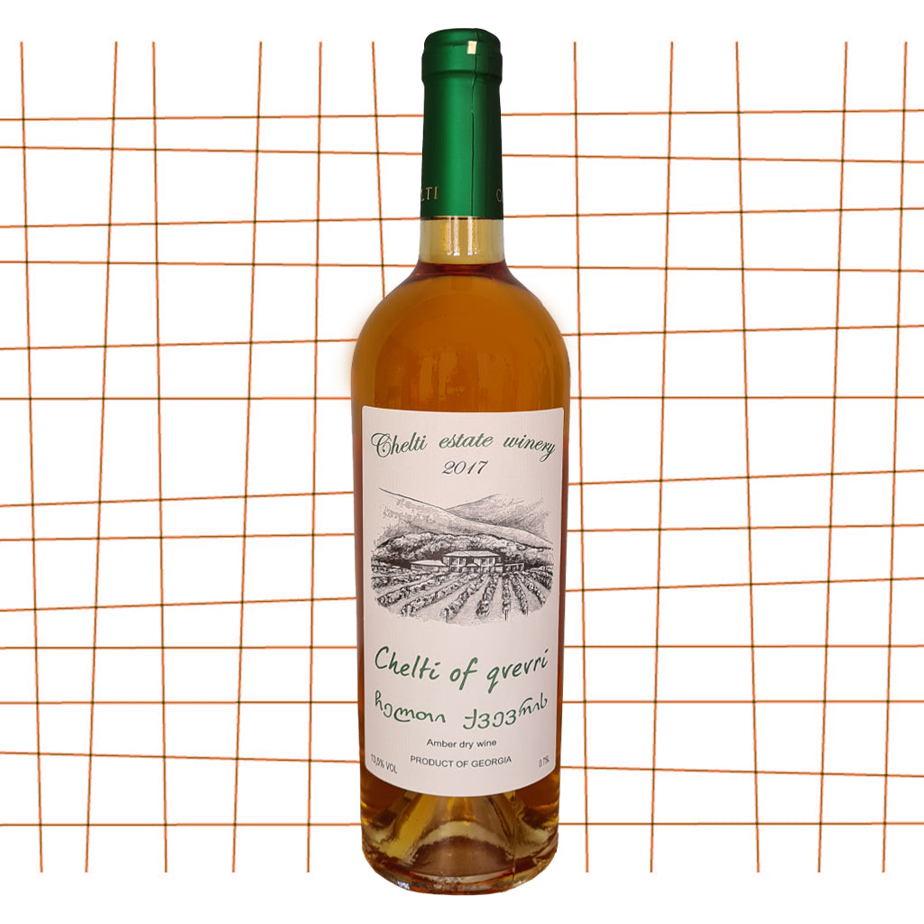 Chelti of qvevri - Orange wine 2017 freeshipping - De Wijnkaart Amsterdam