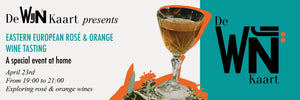 Online Tasting: Eastern European Rosé and Orange Wines 23/04