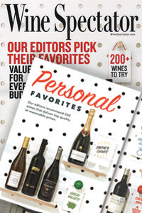 Wine Spectator Magazine Cover