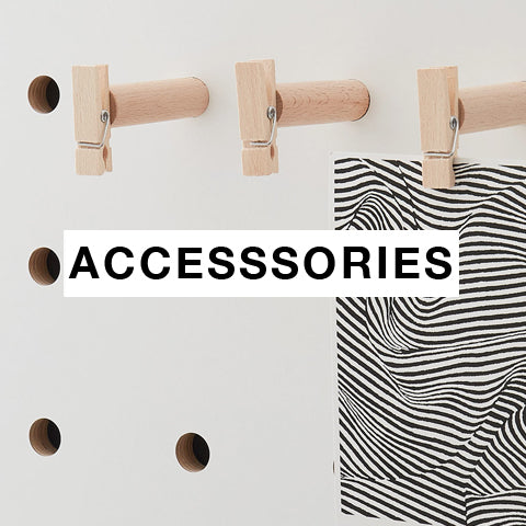 Accessories for pegboards - prongs, clips, shelves, pegs, boxes, etc