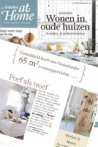 Ariadne at home Dutch Magazine features Kreisdesign room divider screens in plywood