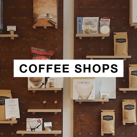 Coffee shop fit-outs with bespoke pegboards by Kreisdesign