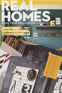Real Homes Magazine featuring Kreisdesign plywood pegboard