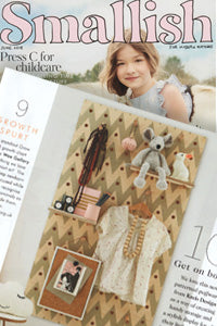 Smallish for the modern mother magazine features kreisdesign patterned pegboard