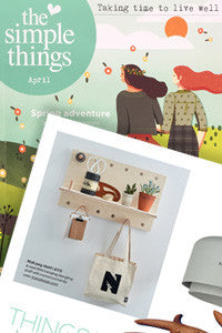 The Simple Things magazine features the PegShelf by Kreisdesign