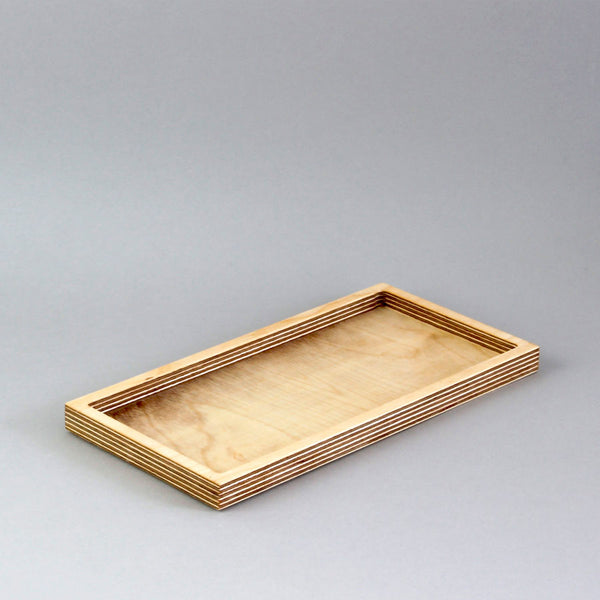 Large Desk Tidy - natural birch plywood