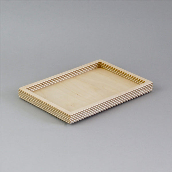 Medium Desk Tidy - natural birch plywood
