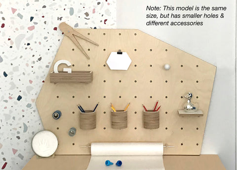 Pegboard Irregular Shape Natural -  60% off