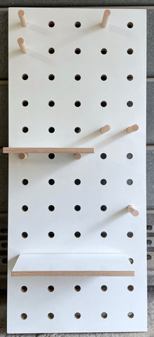 Small Pegboard White - ex display