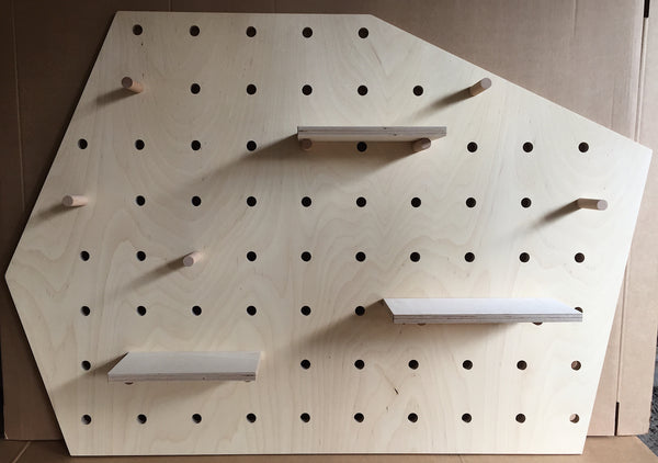 Pegboard Irregular Shape Natural -  50% off
