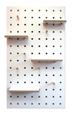 Pegboard White - small defect - 20% off