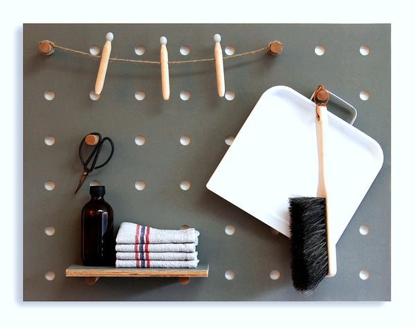 Pegboard 'Little' Grey - minor defect - 60% off