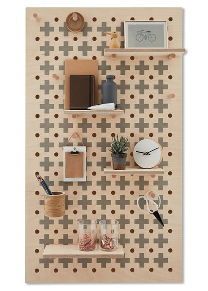 Peg-it-all Pegboard : Cross Pattern