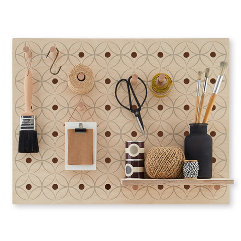 "Peg-it-all ""Little"" Pegboard : Floral Pattern"
