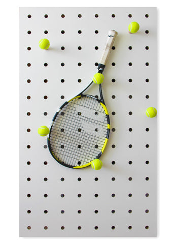Wall-mounted Storage Panel in white 'Wimbledon Edition'