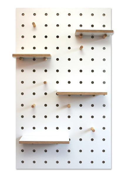 Pegboard White #02 - chips on corner