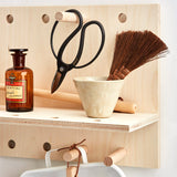 PegShelf Large - Floating Wooden Shelf
