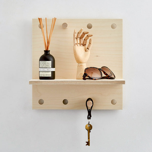 PegShelf Little - Floating Wooden Shelf