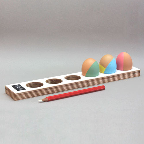 Egg Tray - long with date pad