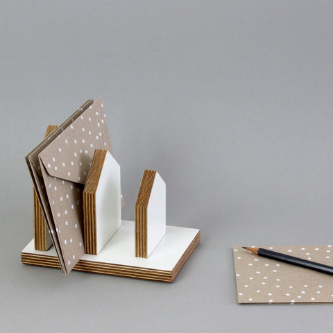 Letter Stand - House Shape