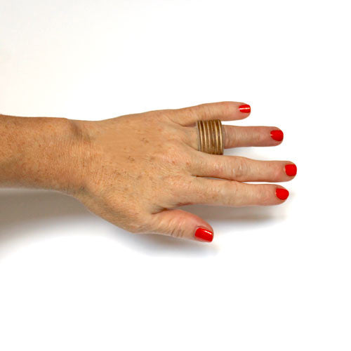 Finger Ring - plywood