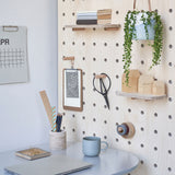 Pegboard Room Divider Screen