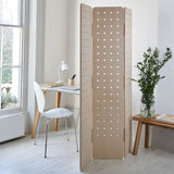 Pegboard Room Divider Folding Screen