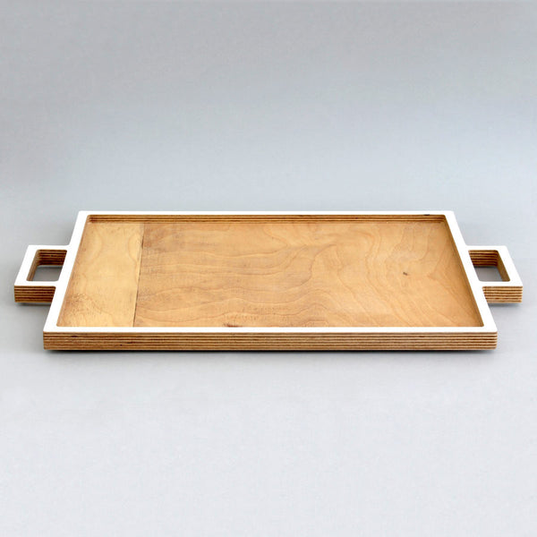 Wood Trays With Handles Christmas