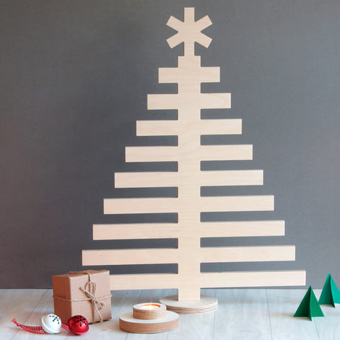 Plywood Christmas Tree - large