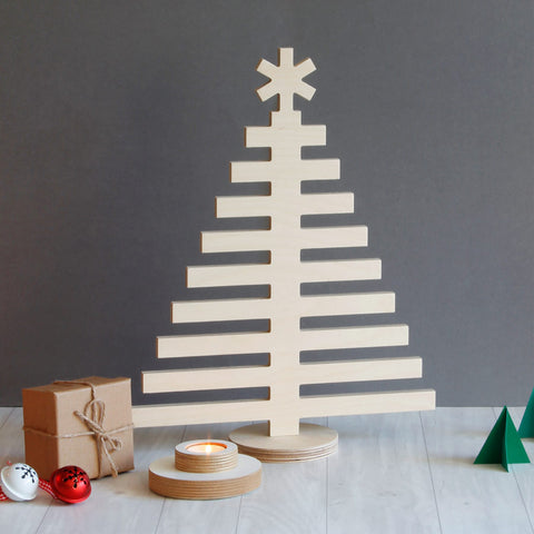 Plywood Christmas Tree - small