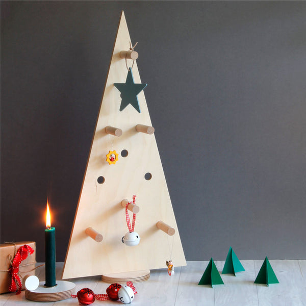 Pegboard Christmas Tree - small