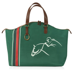 Equestrian Weekend Tote - Front